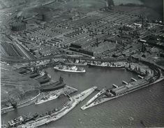 Garston dock Liverpool Waterfront, Liverpool Docks, British Rail, Modern Metropolis, Aerial View, Ancestry, Old Town, Past, City Photo