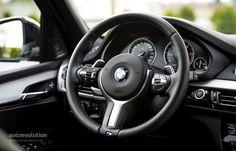 2014 BMW X5 M50d steering wheel