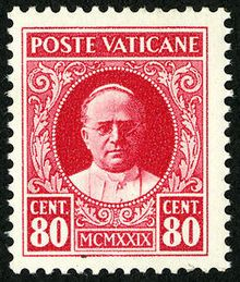 Postage stamps and postal history of Vatican City - Wikipedia, the free encyclopedia