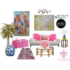 """""""Pink Pagoda"""" by kitty1255 on Polyvore"""
