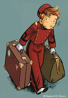 Spirou, by french artist Émile Bravo.