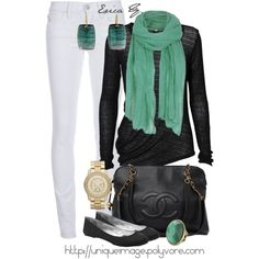 Minus the watch love this all. So cute! This would be perfect for a not so nice spring day.