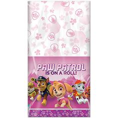 Hard To Find Party Supplies - Paw Patrol 'Girl' Plastic Table Cover Paw Patrol Party Supplies, Kids Party Supplies, Plastic Table Covers, Plastic Tables, Paw Patrol Cake, Pink Parties, Third Birthday, Etsy, Party Ideas