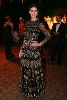 Isabela Fiorentino wearing Valentino  - Brazil Foundation Gala in São Paulo