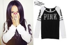 Becky G: Sequin Athletic Top