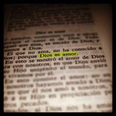 #Dios es #Amor #Biblia