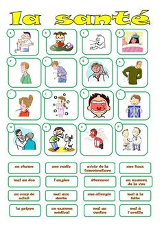 Learn French For Kids Free Printable Printing Videos Clothes Belts Info: 5092232348 French Teacher, Teaching French, Teaching English, French Worksheets, English Worksheets For Kids, French Phrases, French Words, French Lessons, English Lessons