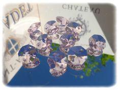 Pink Crystal Chandelier Drops - Chandelier Drops Limited