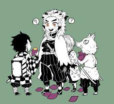 Anime Chibi, Kawaii Chibi, Anime Art, Demon Slayer, Slayer Anime, Anime Lindo, Demon Hunter, Ichimatsu, Cute Anime Boy