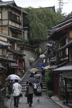 Side street in Kyoto, Japan