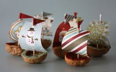 Walnut Armada by Wendy Copley, via Flickr