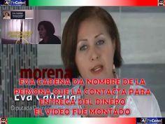 Eva Cadena da el nombre de la persona que la contacta y le da el dinero