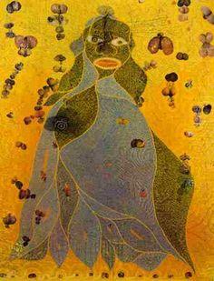 Chris Ofili's Virgin Mary-postmodern