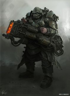 Panzer Schuttler Grenadier, Michal Kus on ArtStation at http://www.artstation.com/artwork/panzer-schuttler-grenadier