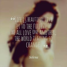 Selena Quintanilla Quotes Interesting Pinpaola Ocanto On Words Of Wisdom  Pinterest  Selena Selena . Review