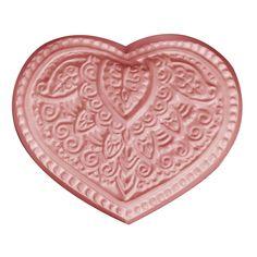 Milky Way™ Henna Heart Soap Mold (MW 467) - Wholesale Supplies Plus
