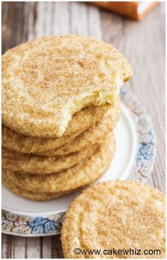 This easy, classic Snickerdoodles recipe yields soft and chewy cookies with crispy, sugary tops. Recipe for Snickerdoodles without cream of tartar included.