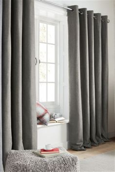 Buy Thermal Cosy Eyelet Curtains from the Next UK online shop