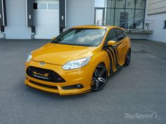 2013 Ford Focus ST By Wolf Racing