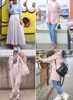 Pinterest: @adarkurdish Ootd Hijab, Hijab Chic, Hijab Outfit, Hijab Office, Islamic Fashion, Muslim Fashion, Hijab Fashion Inspiration, Modern Hijab, Abaya Fashion