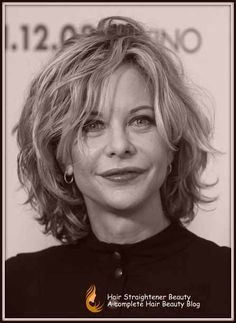 Short hairstyles for women over 50 - Aging neck line