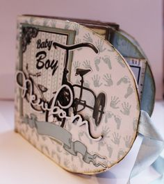 Scrappiness: Posealbum. Inspirasjon til utfordring #14 Baby Boy, Album, Boy Newborn, Card Book