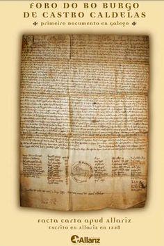 Museo das Letras de Castro Caldelas (Ourense) e o primeiro texto escrito en galego