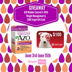 Enter to win a $100 Target gift card! Ends June 15th