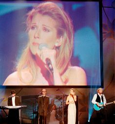 Bee Gees with Celine Dion 1997