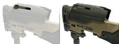JAE-700 Thumbwheel Adjustable Cheek Rest with Quick Release Mechanism