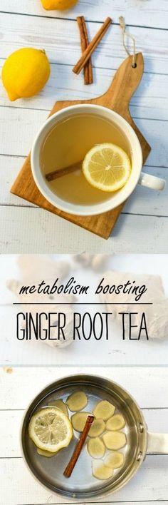 Ginger Tea Recipe - Using Ginger Root to Create Metabolism Boosting Teac