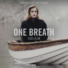 One Breath S2:08   Scully, like a Lady of Shalott, barely tethered to this life.