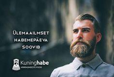 Septembri esimene laupäev on ülemaailmne habemepäev. Head habemepäeva härrad!