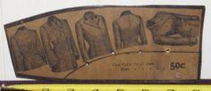 RARE Antique 1800's Victorian Ladies Dress Coat Collars Sewing Pattern JB Plant | eBay