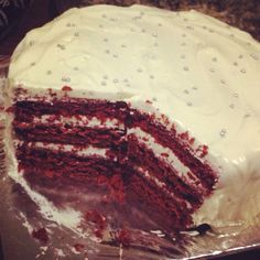 Red velvet cake. Bake story at it's best