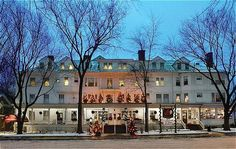 Red Lion Inn-stayed here when on a road trip to Cooperstown, it is Norman Rockwell picture perfect