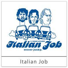 <イタリアン・ジョブ> カテナチオ精神に代表されるイタリア代表の現実的な試合運びは、まさに「イタリアンJOB」。 強力な前線を支える選手にもスポットを。
