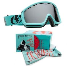 NEW Electric EGB2 Trouble Andrew Limited Edition ski snowboard goggles +Free CD