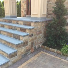 Beau This Whitestone, NY Entryway Got A Makeover Thanks To Calisi Landscaping  Using Cambridge Pavingstones.