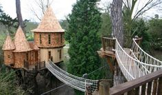 J.K. Rowling's tree house built by Blue Forest.