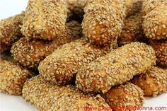 Sesame Seed Cookies... Biscotti Regina