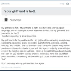 I want a boyfriend like this...reeeeaaalllyyyyy bad!!