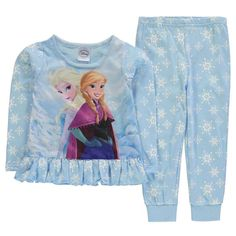 Girls Disney Frozen Pyjamas
