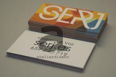Tarjeta de visita del cantautor Serj Convenience Store, Cover, Business Cards, Convinience Store