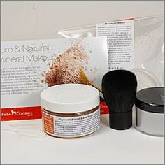 Pure & Natural Makeup Kit - Honey Beige Color Cosmetic Kit. Note: Item is Non-Returnable, Consists of Raw Materials.  #MakingCosmetics_Inc. #Beauty