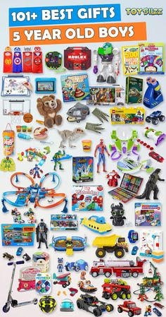 Browse our Gift Guide featuring 300 Best Toys For 5 Year Olds. Discover educational toys, unique kids gifts, kids games, kids books, and more for your 5 year old boy. Make his Birthday or Christmas extra magical with these delightful picks hell love! Baby Toys, Newborn Toys, Unique Gifts For Kids, Kids Gifts, Educational Toys For Preschoolers, 4 Year Old Boy, Push Toys, Preschool Gifts, Old Christmas