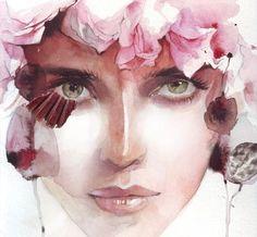 Rostro #art #watercolor
