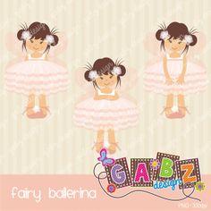 Fairy Ballerina por GabzDesignShop en Etsy
