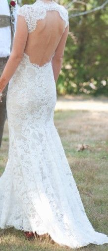 adore the open lace back