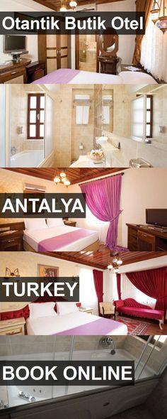 Hotel Otantik Butik Otel in Antalya, Turkey. For more information, photos, reviews and best prices please follow the link. #Turkey #Antalya #travel #vacation #hotel